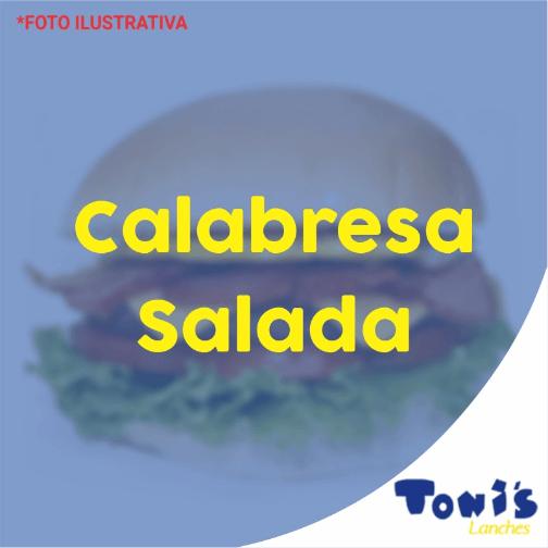 Tonis Lanches - Calabresa Salada