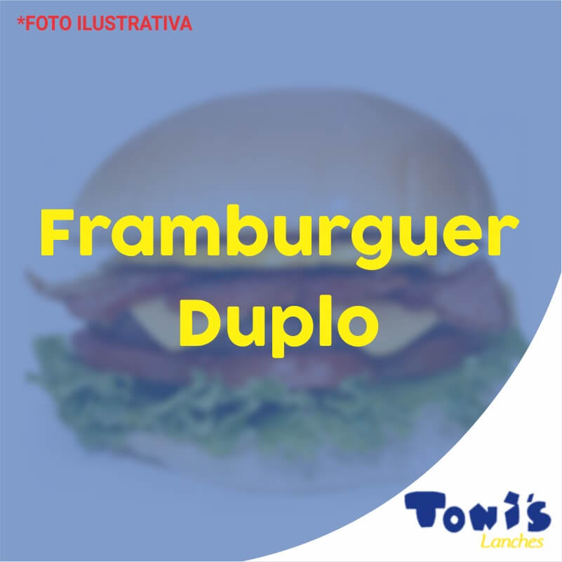 Framburguer Duplo